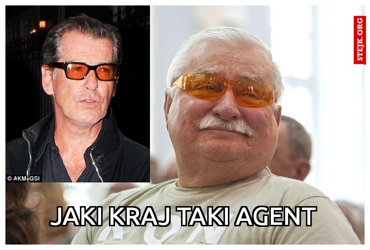 Jaki kraj taki agent