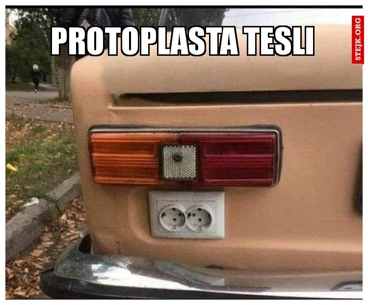 Protoplasta tesli